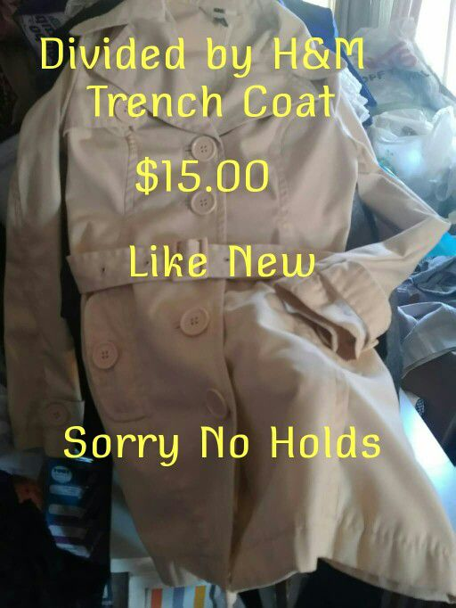 aafeef7e913c Ladies trench coat for Sale in City of Industry