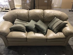 Wondrous New And Used White Leather Couch For Sale In Carol Stream Lamtechconsult Wood Chair Design Ideas Lamtechconsultcom