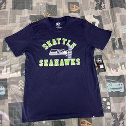 Seattle Seahawks Navy Tee  Thumbnail