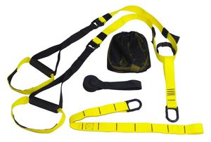 At Home Gym Training Band Strap Suspension Trainer Basic Kit Complete Full Body Workouts MMA Like TRX Bands for Sale in San Diego, CA