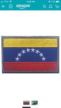 Venezuela flag patch Thumbnail