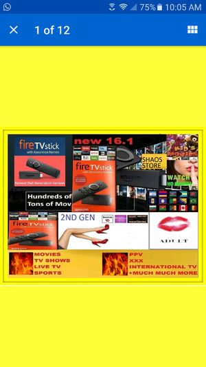 Amozon fire stick fully loaded for Sale in New York, NY