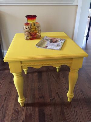 Yellow Table for Sale in Apex, NC