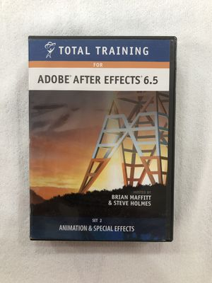 Total Training For Adobe After Effects 6.5 Set 2 : Animation and Special Effects for Sale in Los Angeles, CA