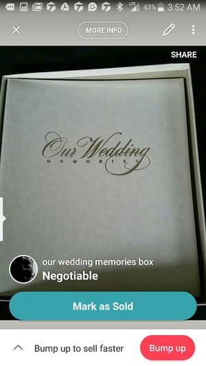 Wedding scrap book for Sale in Pittsburgh, PA