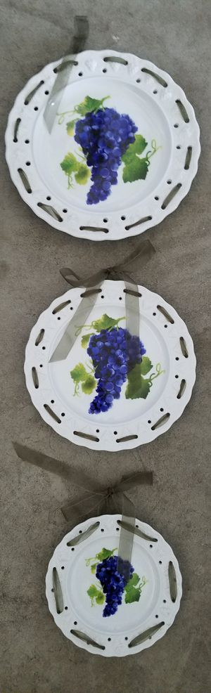 Grape plates for Sale in Salt Lake City, UT
