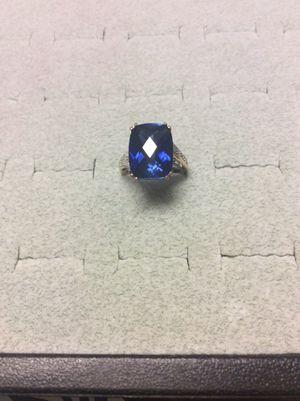 Sapphire Diamond Ring in Yellow Gold for Sale in Annandale, VA