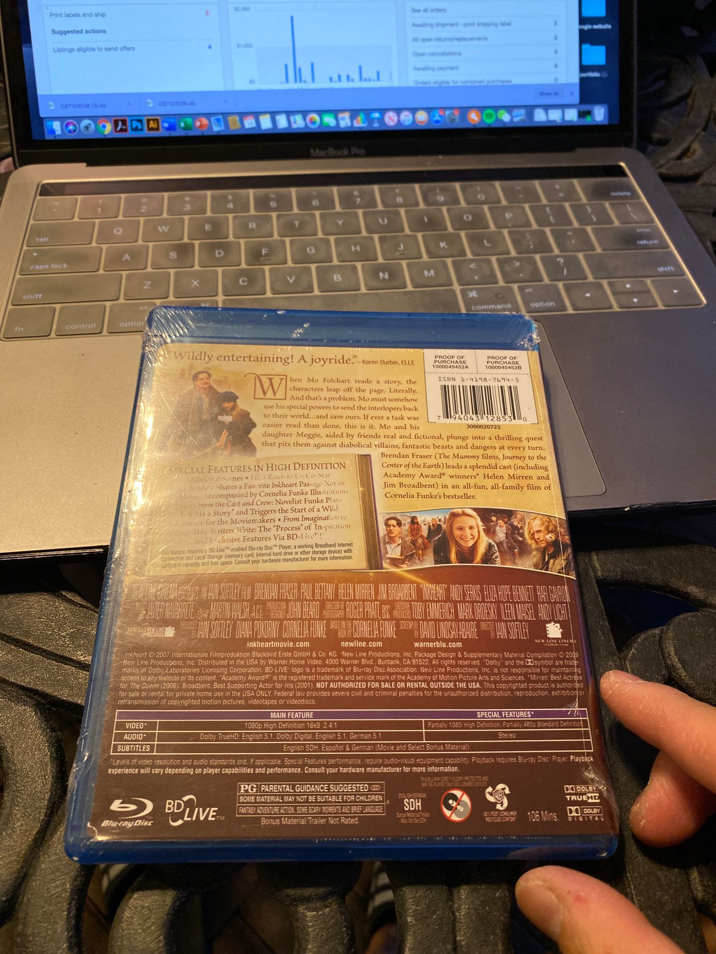 Inkheart sealed Blu-ray Disc brand new condition