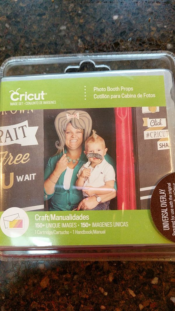 Cricut Photo Booth Props Cartridge For Sale In Bothell Wa Offerup