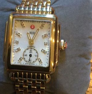 Preowned Gold diamond Michele watch for Sale in Washington, DC