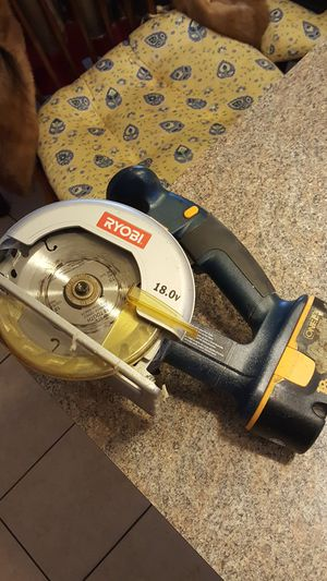 ryobi 18v battery saw for Sale in Bowie, MD