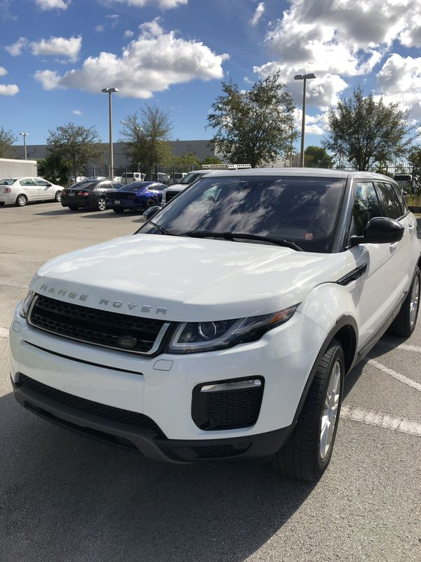 Warren Henry Range Rover >> 2016 Range Rover Evoque for Sale in Miami, FL - OfferUp