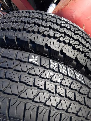 235/75-15 #2 tires for Sale in Alexandria, VA
