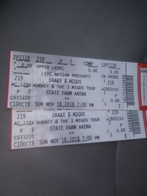Migos and drake tomorrow last show for Sale in Lithonia, GA