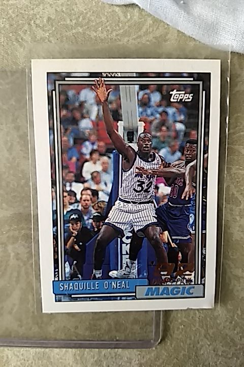 Shaq Oneal Topps Rookie Card 1992 Mint For Sale In Rancho