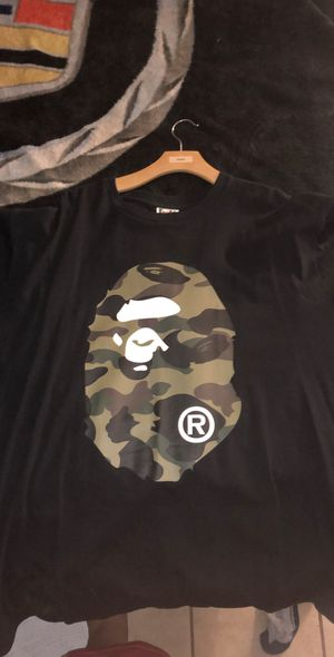 f5ceab67 New and Used Bape shirt for Sale in Woodland, CA - OfferUp