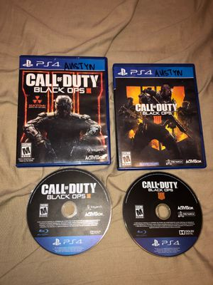 Photo Call of Duty Black Ops 3 & 4