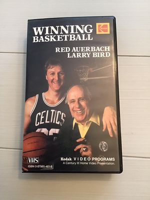 Photo Winning Basketball: Larry Bird and Red Auerbach Classic VHS Tape (1987)
