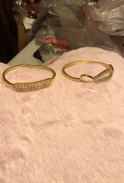 Lady bracelet gold layered Thumbnail