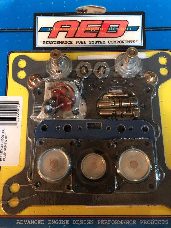 Rebuild Kit For 4 Barrel dual line Holley Carburetor  Sales For 100 00 New  Brand New- never Opened Can't use it 55 00  OBO {contact info removed} for