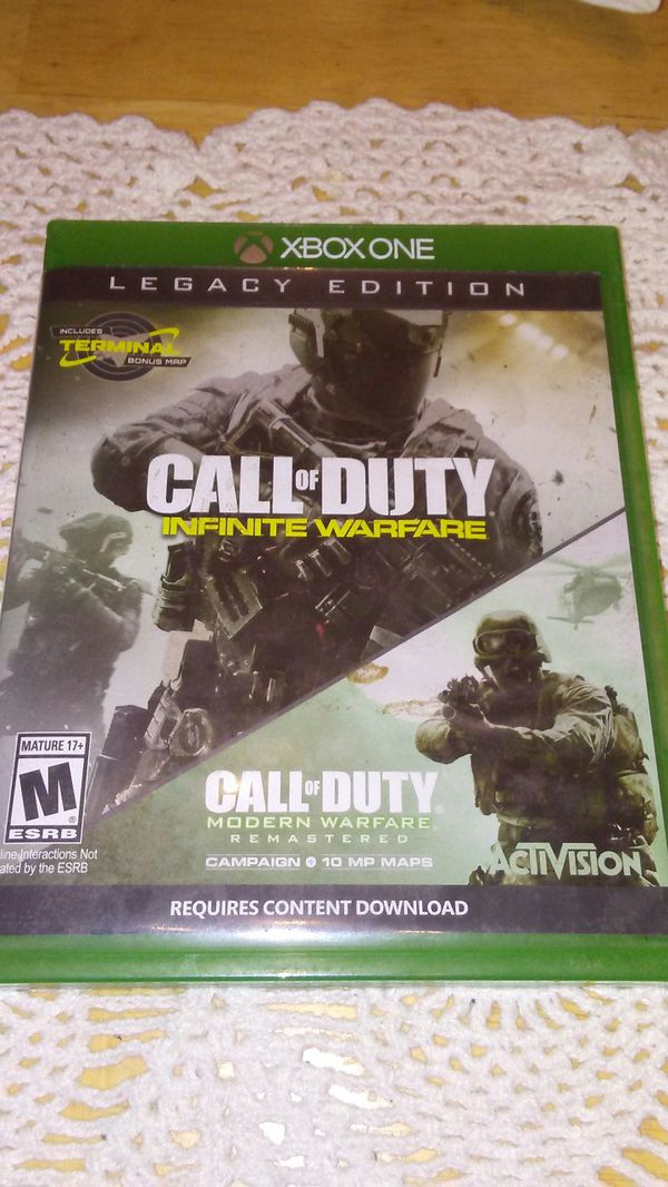Cod iw and gta 5 for Sale in Modesto, CA - OfferUp