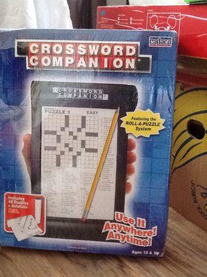 Crossword Companion Game for Sale in Marysville, WA