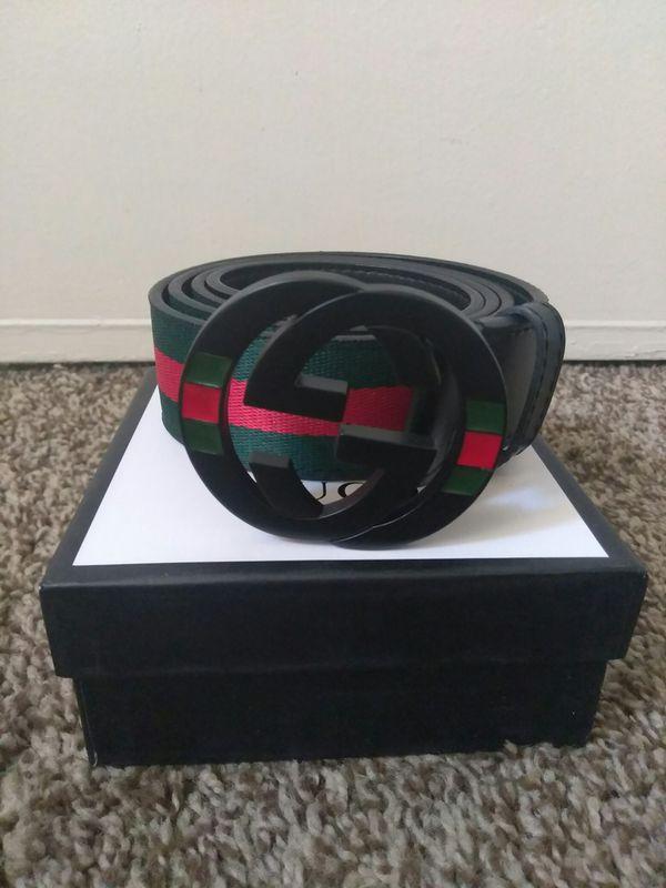 40bc4e8ef8e Black Gucci belt for Sale in Oakland