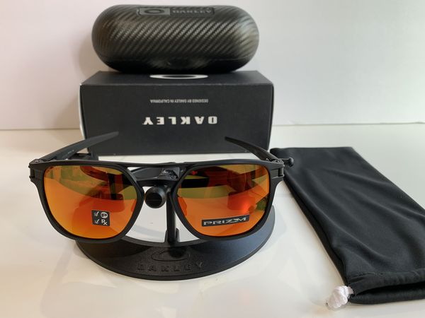c0be781cce47 OAKLEY LATCH ALPHA PRIZM POLARIZED RUBY IRIDIUM WITH CARBON FIBER CASE  (RETAIL VALUE $320+) for Sale in Los Angeles, CA - OfferUp
