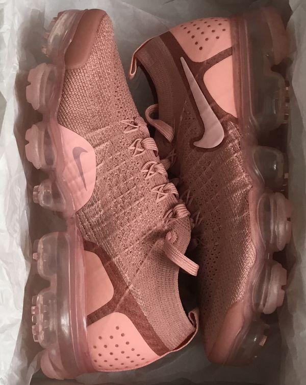041e216843e Nike Air VaporMax Plus 2 Flyknit Rust Pink 942843-600 Women s for ...