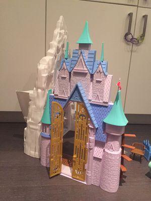 Mattel Elsa Frozen Ice castle for Sale in Washington, DC