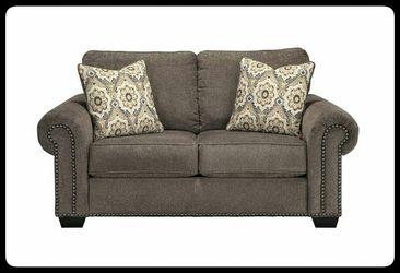 ✔Ashley🚩 Emelen Alloy Living Room Set Thumbnail