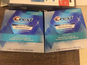 Two boxes white strips $40 firm for Sale in Aldie, VA
