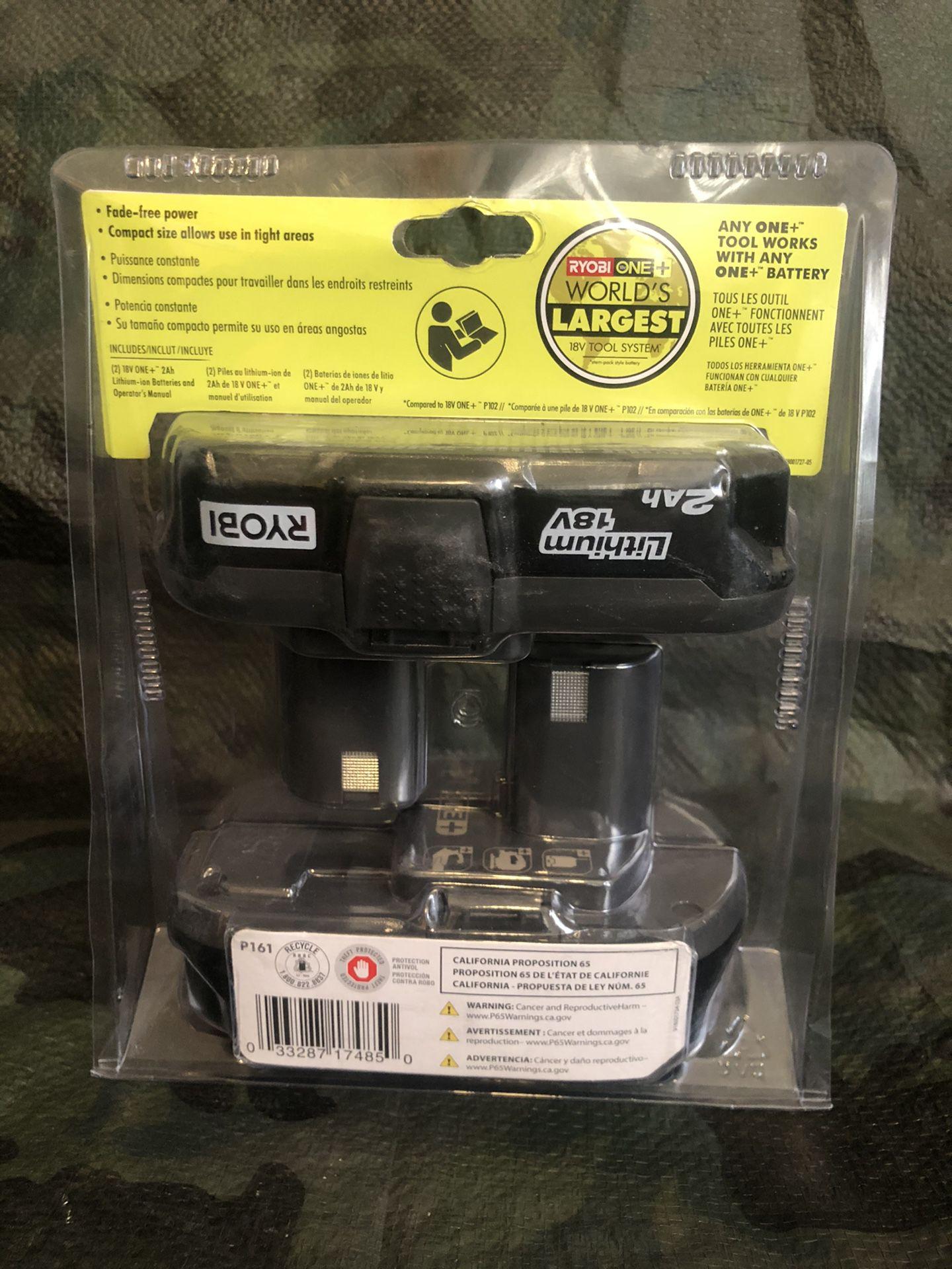 RYOBI 2AH Lithium 18v Battery Pak
