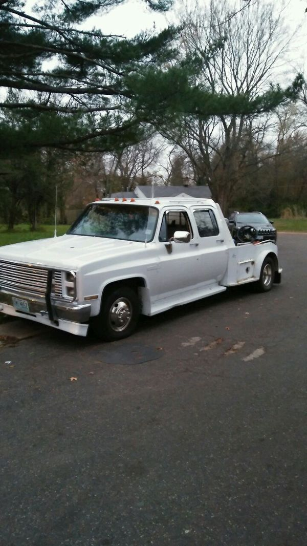 88 Chevy Dually With Western Hauler Bed 454 For Sale In