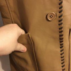 Metro Style western style leather jacket NWOT 8 Thumbnail