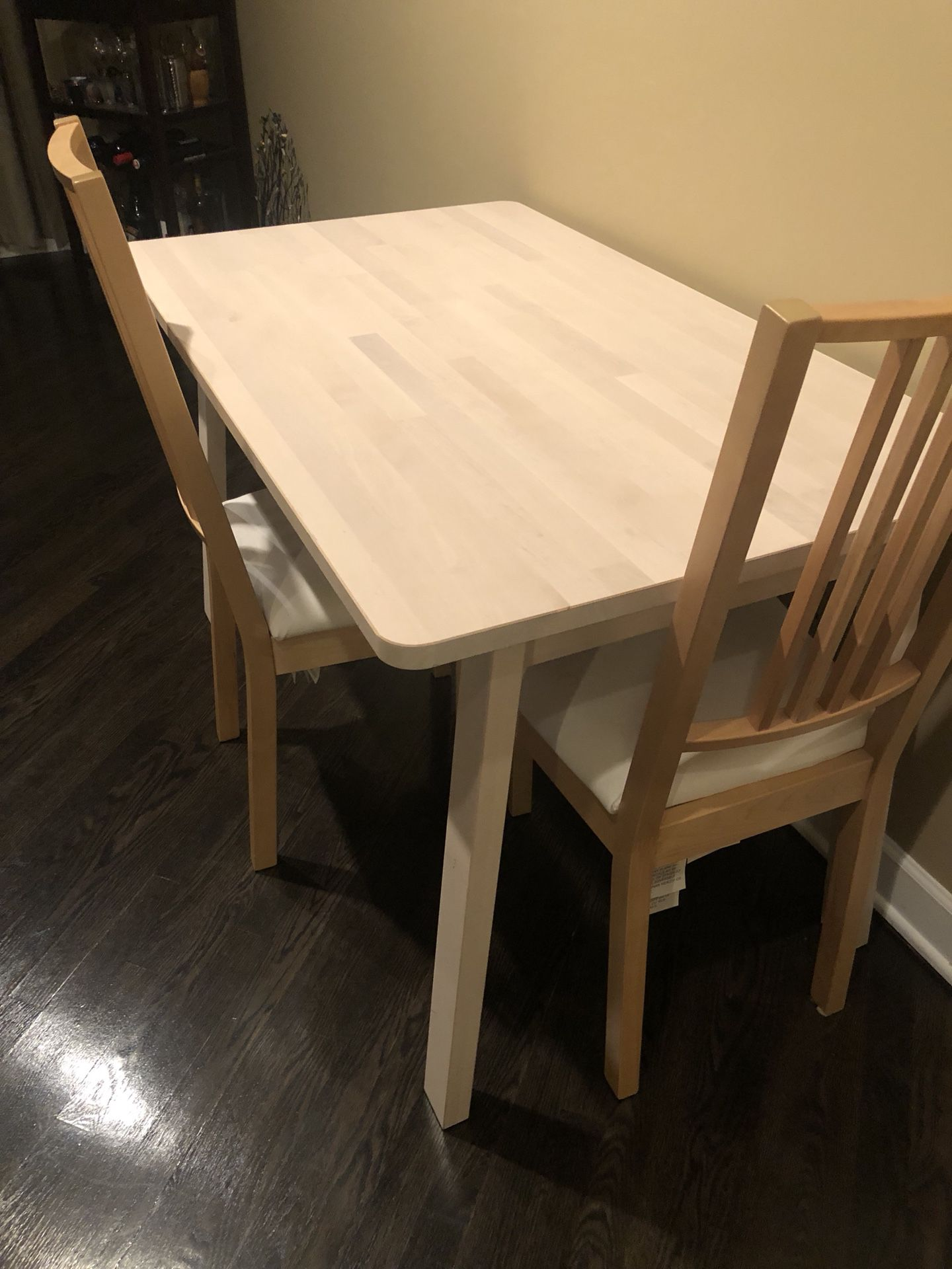 Norraker Dining Table And 2 Chairs For, Used Dining Room Chairs Chicago