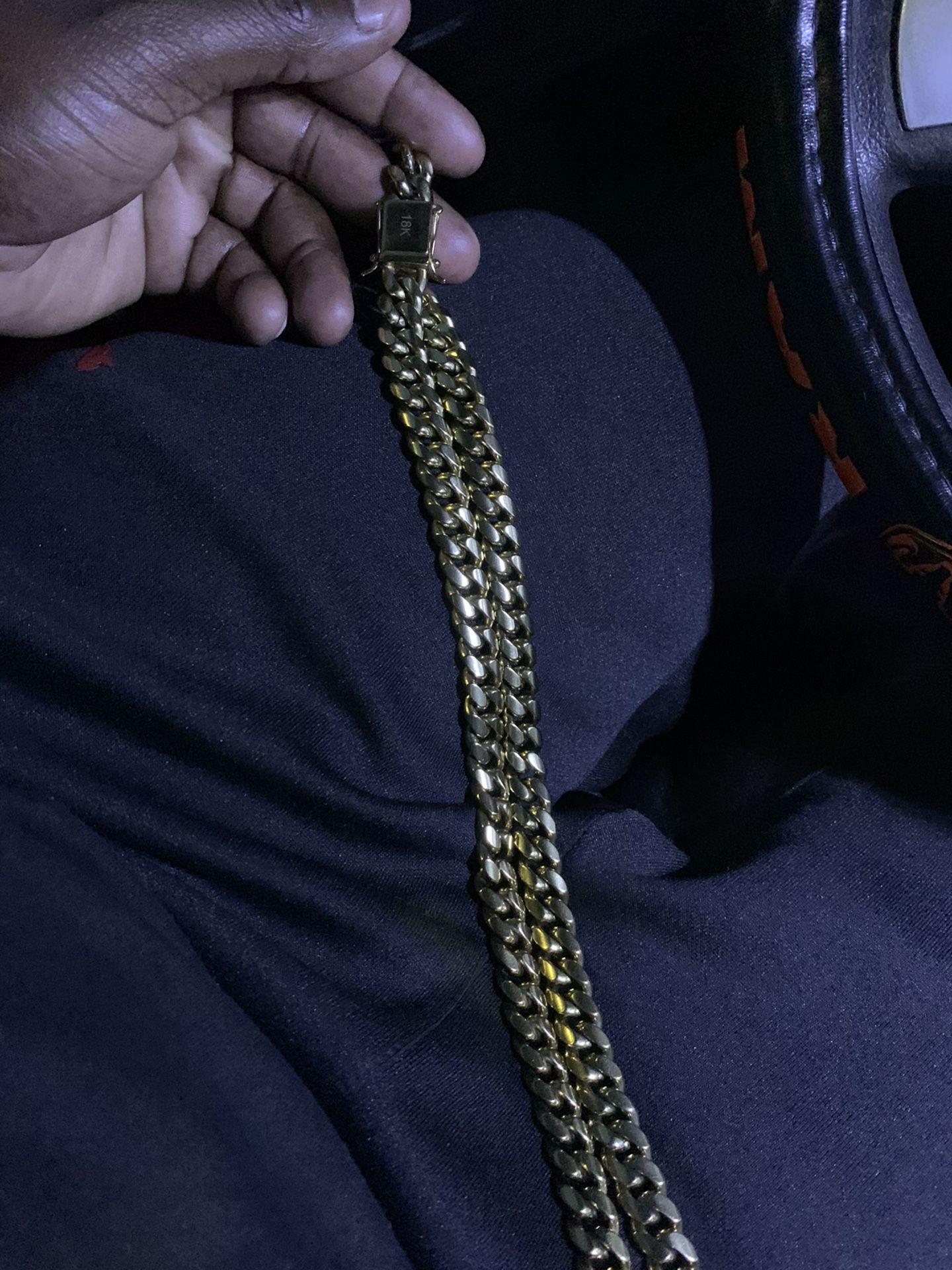 Chain 18k 100