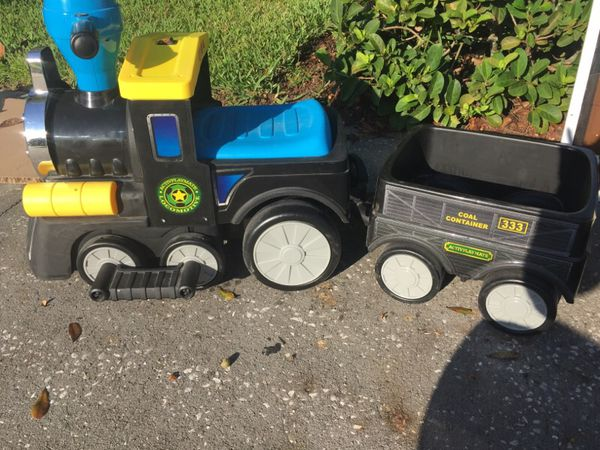 Train power wheels for Sale in Brandon, FL - OfferUp