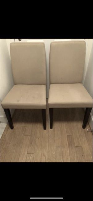 TWO DINING CHAIRS $25 PER EACH for Sale in Washington, DC