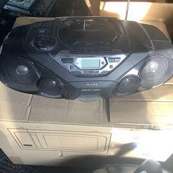 Philips  Radio  Cassette Cd   Thumbnail