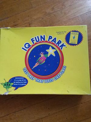 IQ Fun Park - game based prep for G&T test for Sale in Brooklyn, NY