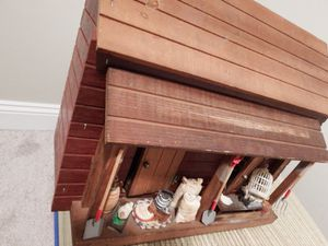 Vintage Wooden Miniature General Store Doll House for Sale in Frederick, MD