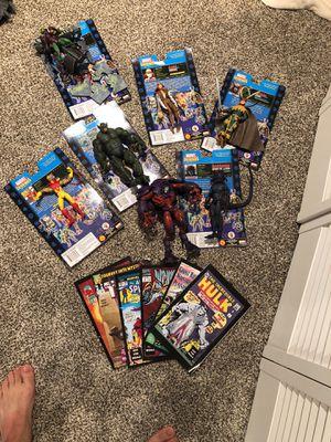 Marvel action villain figure set for Sale in Sterling, VA