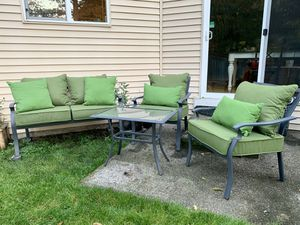 Awesome New And Used Patio Furniture For Sale In Graham Wa Offerup Gmtry Best Dining Table And Chair Ideas Images Gmtryco