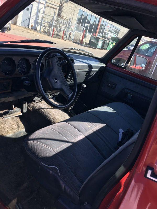 1991 Dodge Ram snow truck