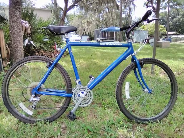 7dcc3bfc35d Cannondale vintage 1989 SM400 3.0 series alum. Mountain bike 26