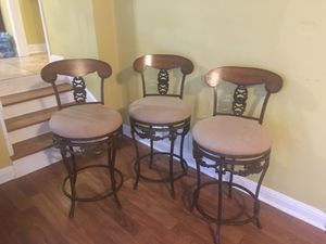 3 stools for Sale in Roswell, GA