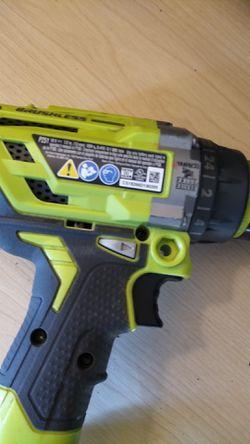 Ryobi hammer drill like new Thumbnail