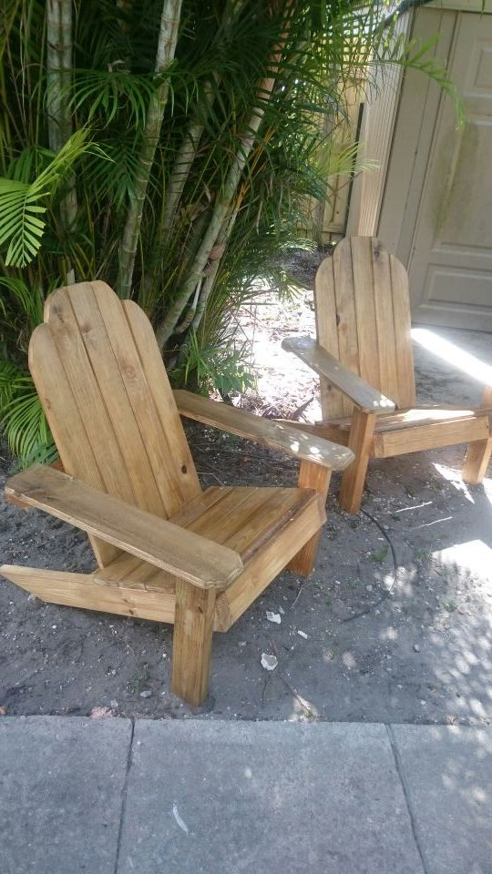 Arondack Chairs For Sale In Pembroke Pines Fl Offerup