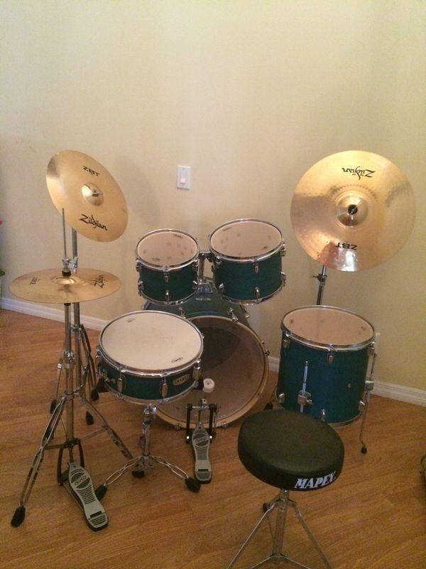 Mapex 7 Piece Drum Set